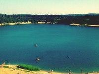 Пляж Изумрудное озеро (Казань, пруд Юдинский карьер)