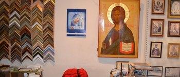 Багетная мастерская при школе «Ярославская икона» (Ярославль, ул. Революционная, 15)