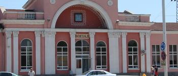 Железнодорожная станция города Батайск (Ростовская обл., Батайск г., пл. Железнодорожников, 1)
