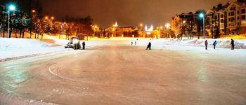 Сезонный каток Черное озеро (Казань, ул. Дзержинского)