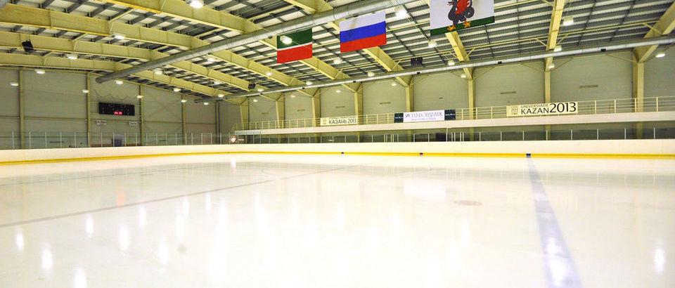 Ледовая арена Ак Буре (Казань, ул. Рашида Вагапова, 17)