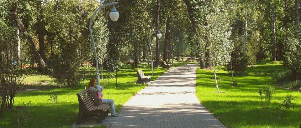 """Парк """"Сосновая роща"""" (Казань, просп. Ямашева, 1)"""