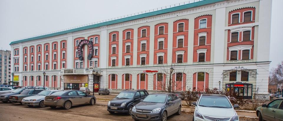 Торгово-офисный центр Технопарк Адмиралтейский (Казань, ул Адмиралтейская, д 3)