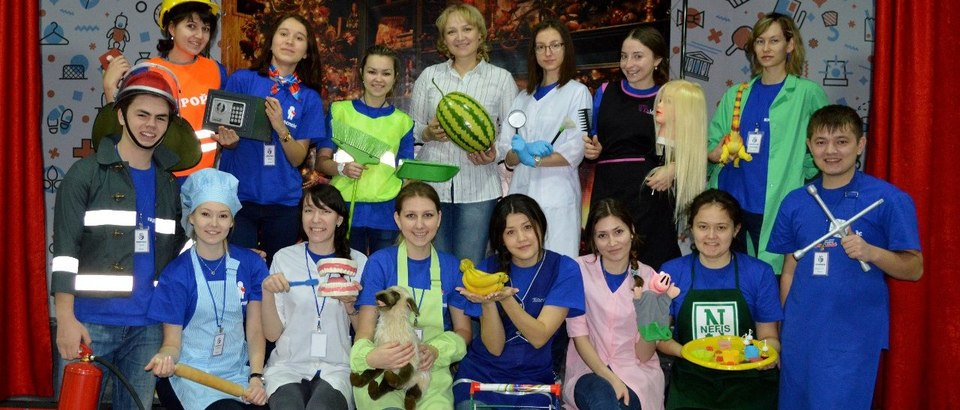 Детский город KidSpace (Казань, просп. Ямашева, 115а)