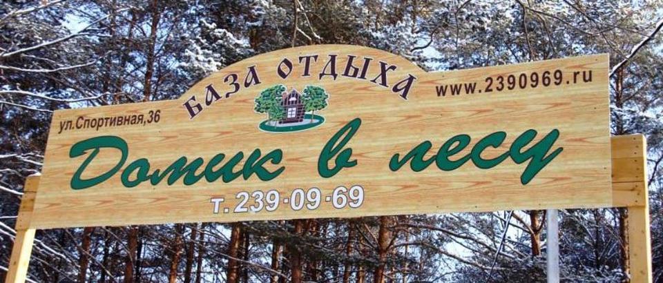 Домик в лесу (Казань, п. Октябрьский ул. Спортивная, 36)